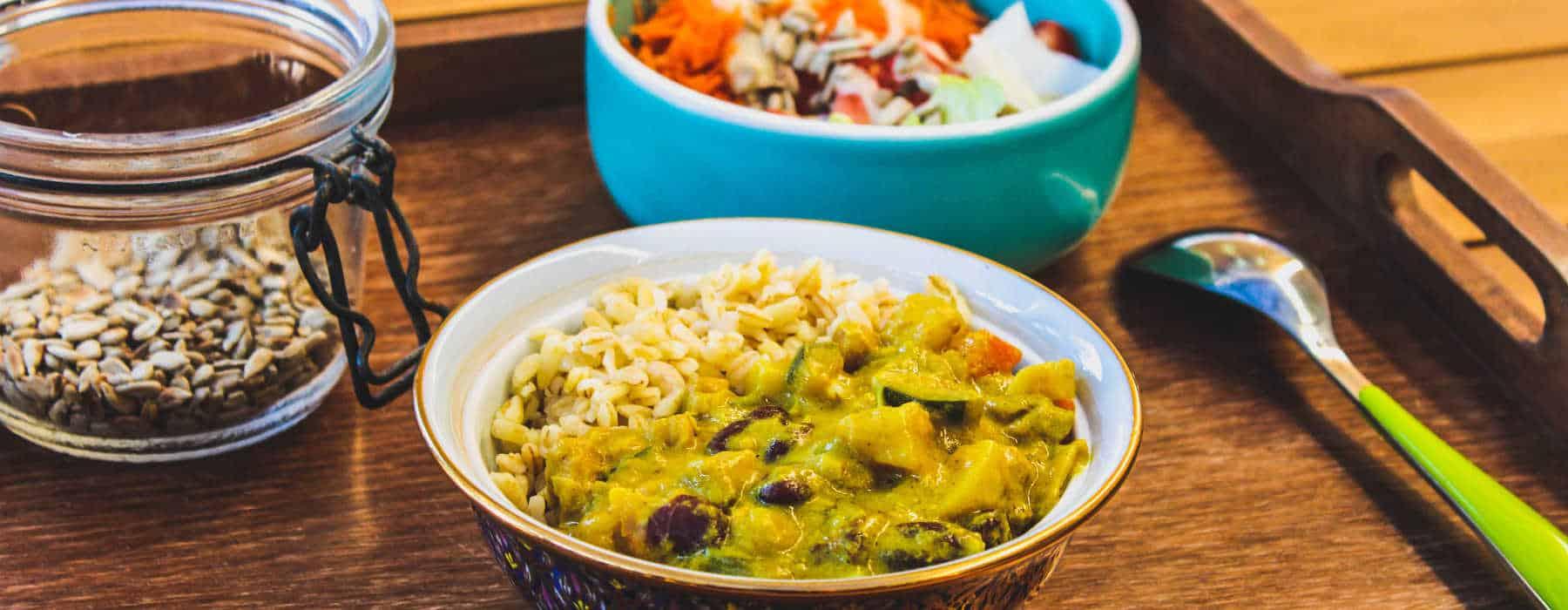 recette curry légume vegan rapide et simple
