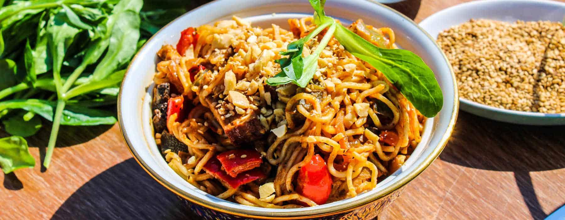 Recette bad thaï végétalienne