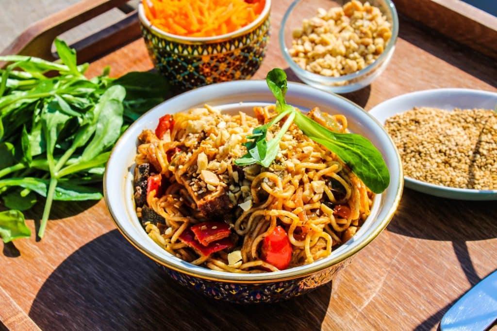 recette pad thaï végétalienne